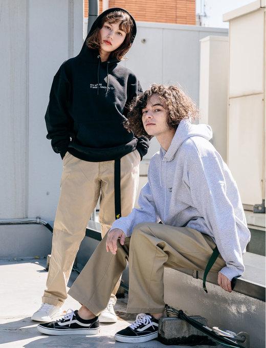 ブラック&杢グレー